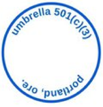 Umbrella is the 501(c)(3) that provides us with non-profit status